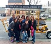 Ladies Night Birthday Pedal Tour
