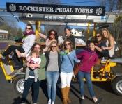 Birthday Party Pedal Tour