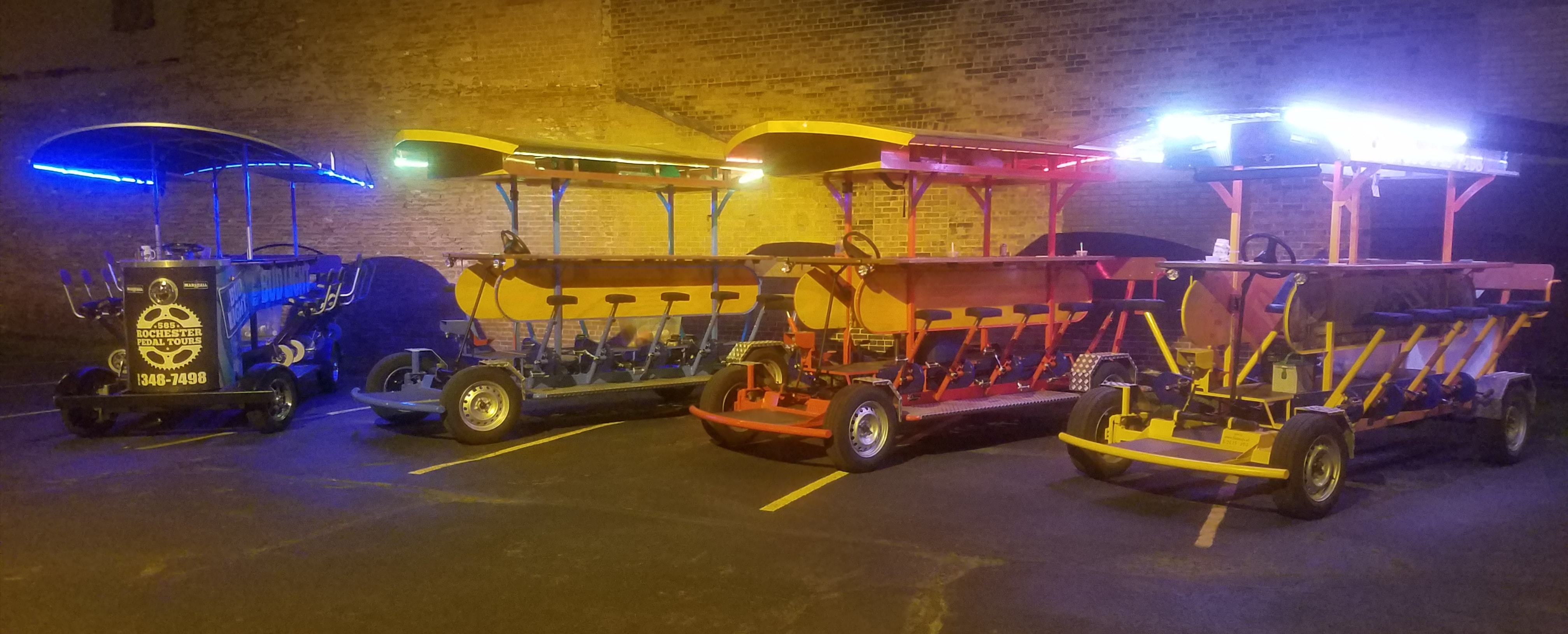 Private Pub Crawl Brewery Pedal Tours