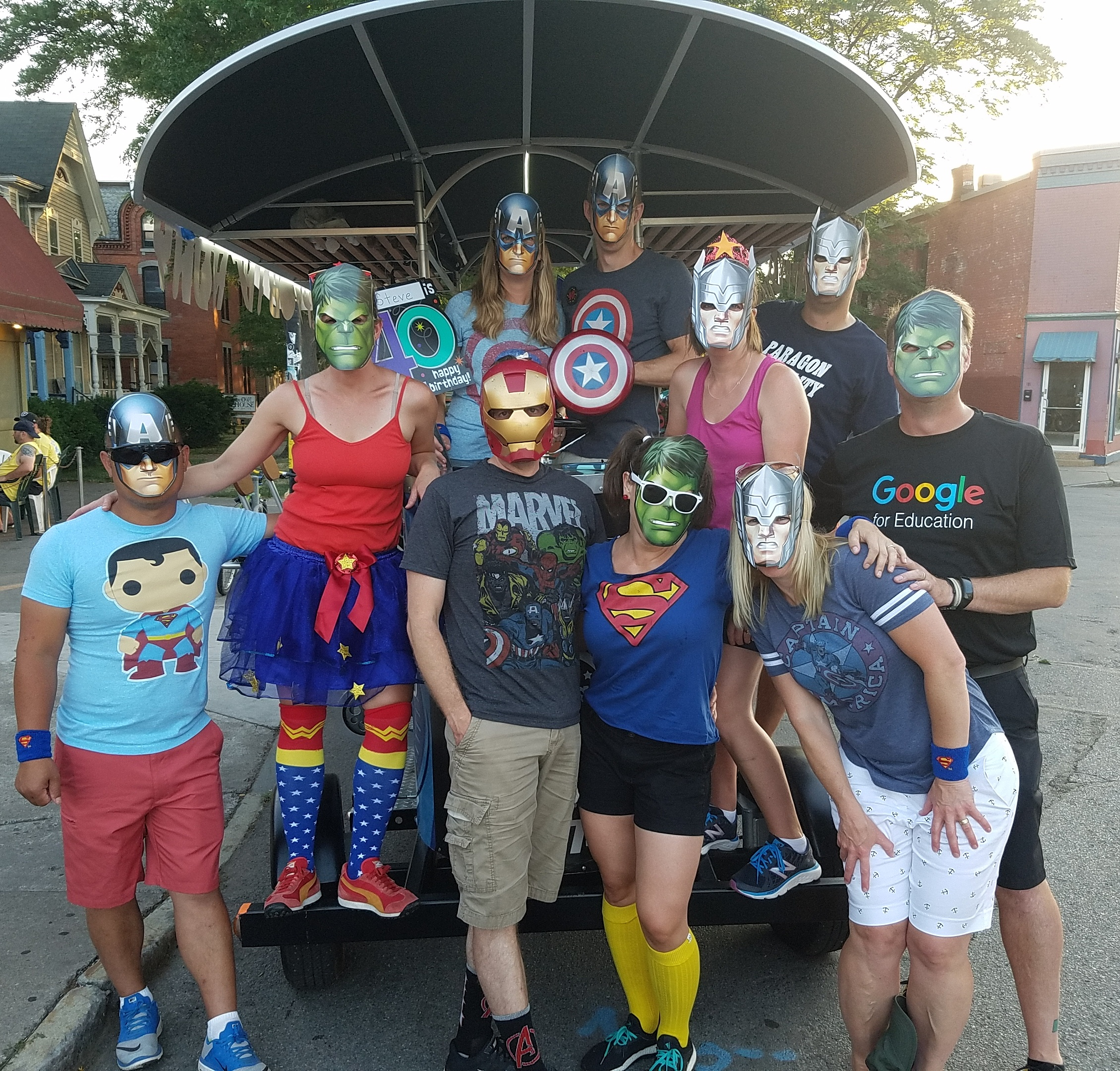 Super Hero Pedal Tour - Bar Crawls in Rochester NY