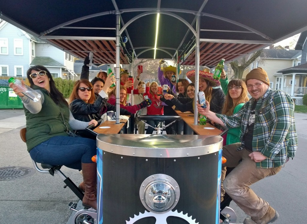 Cheers to Rochester Pedal Tours