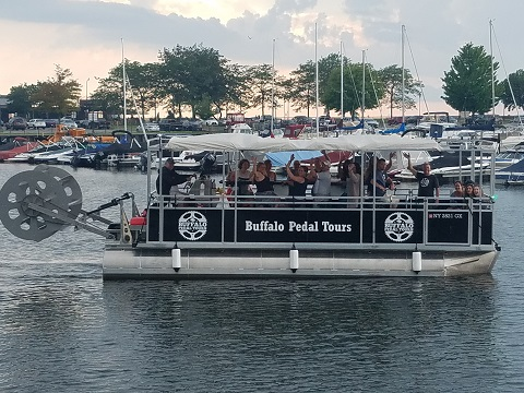 Pedal Pontoon Boat Tours in Rochester NY