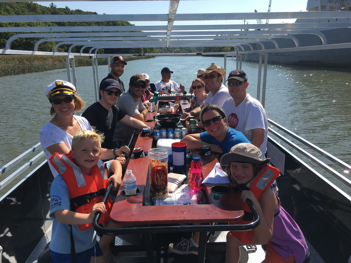 Storing Bikes On Boats: Cycle & Pedal Pontoon Boat Tours In Rochester NY