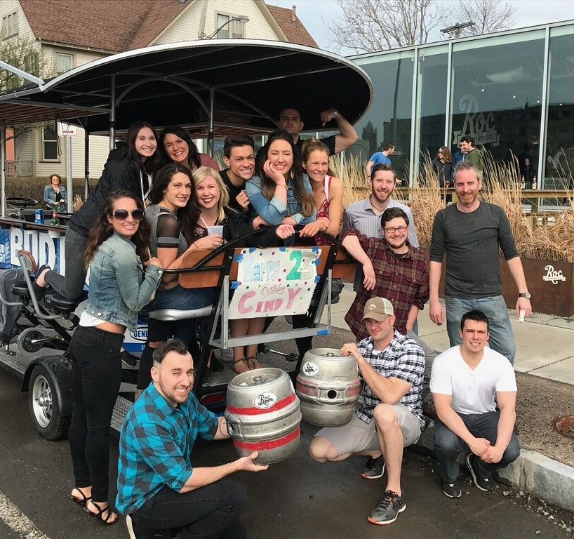 Brewery Crawl Pedal Tour In Rochester