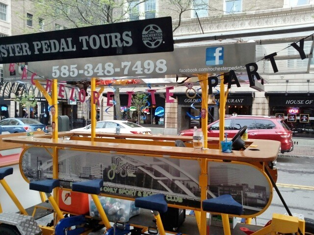 Summer events in Rochester, Rochester Pedal Tours
